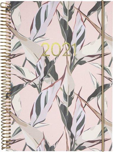 Kalender 2021 Weekly A6 Saga blad 1