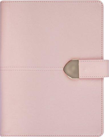 Kalender 2019 Weekly A5 Vintage med slejf konstläder rosa 1