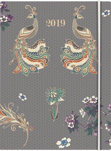 Kalender 2019 Business Paradis påfågel 1