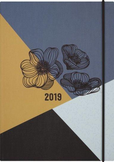 Kalender 2019 Business Paradis blomma 1