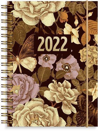 Kalender 2022 Senator A6 fjäril brun 1
