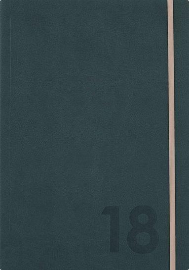 Kalender 2018 Senator A5 Mabel mörkgrön 1