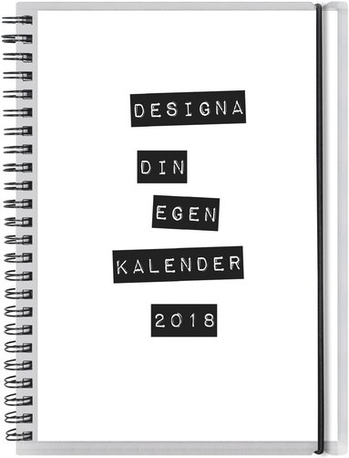 Kalender 2018 Dagbok 4i1 1