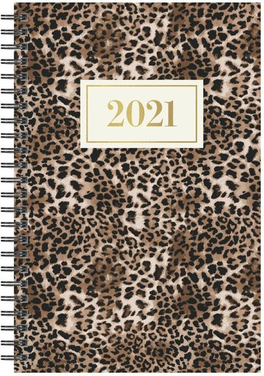 Kalender 2021 Business leopard 1