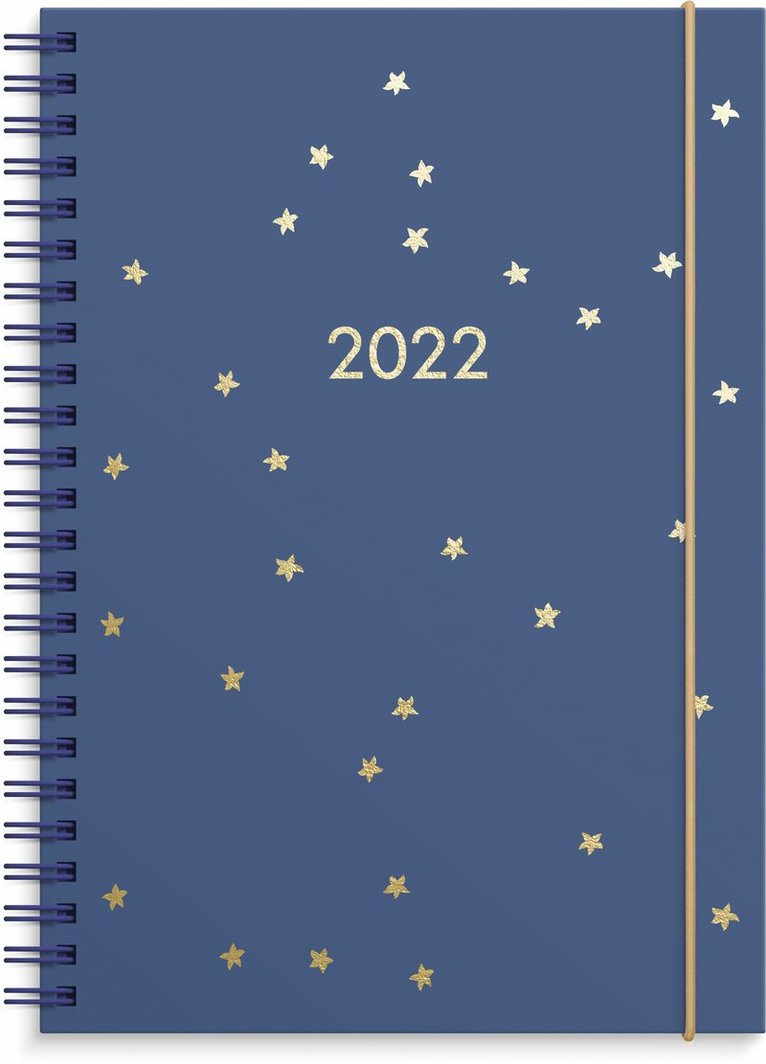 Kalender 2022 Business A5 stjärnor 1