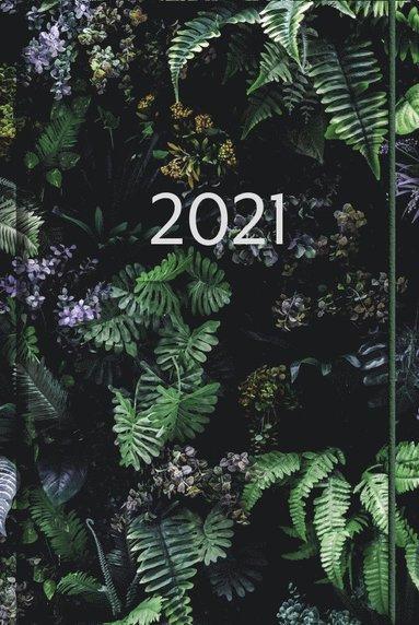 Kalender 2021 Business gröna blad 1