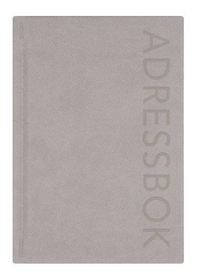 Adressbok A-Ö grå