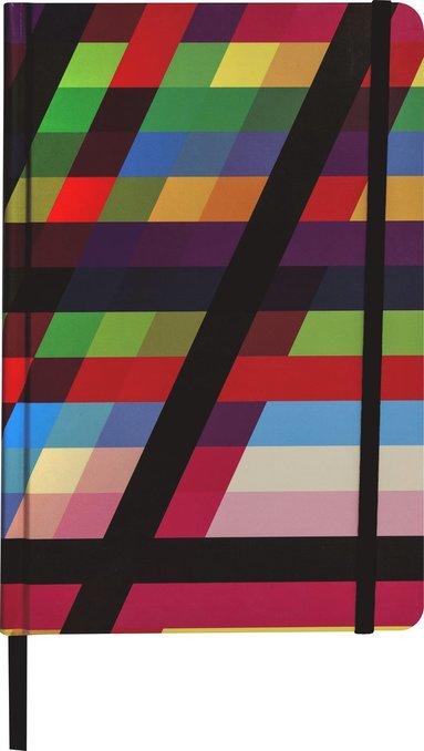 Anteckningsbok A5 linjerat multifärgad