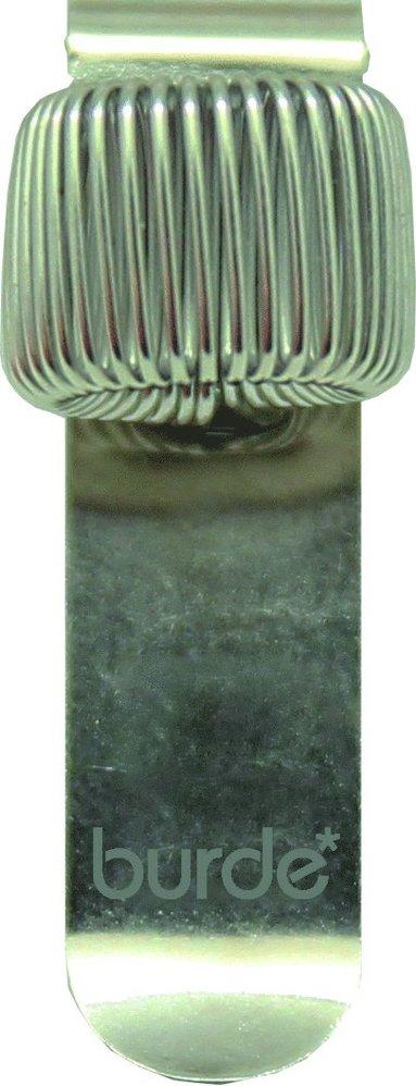 Pennhållare med clips silver 1