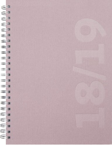 Kalender 18-19 Dagbok Savanna rosa
