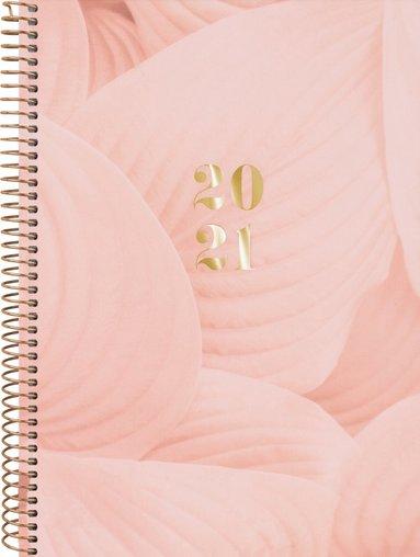 Kalender 2020-2021 Dagbok Saga aprikos 1