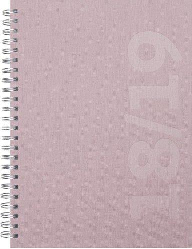 Kalender 18-19 A5 Senator Savanna rosa