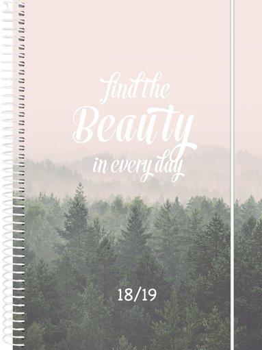 Kalender 18-19 Dagbok Solo beauty 1