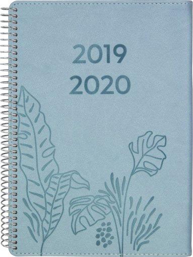 Kalender 2019-2020 A6 Senator Twist blå 1