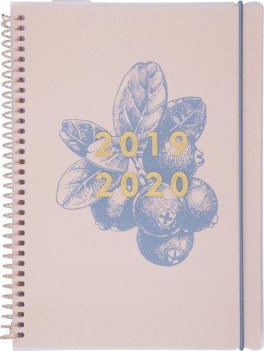 Kalender 2019-2020 Week Fantasy blåbär 1