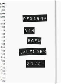 Kalender 2020-2021 Dagbok 4i1