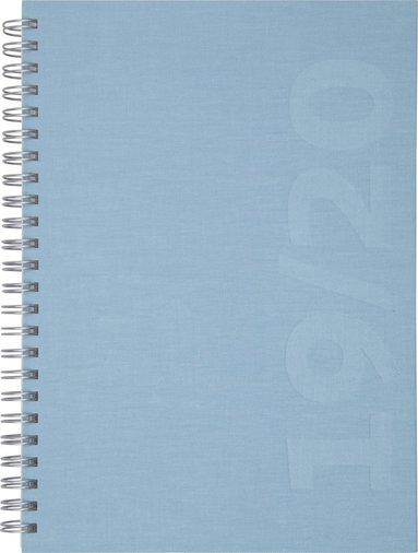 Kalender 2019-2020 Dagbok Ottawa blå