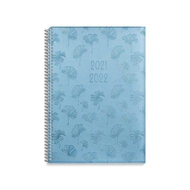 Kalender 2021-2022 Study A5 Twist blå 1