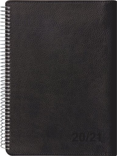 Kalender 2020-2021 Dagbok Twist svart 1