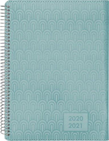 Kalender 2020-2021 Senator A5 Twist grön 1