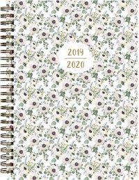 Kalender 2019-2020 Study A6 småblommig