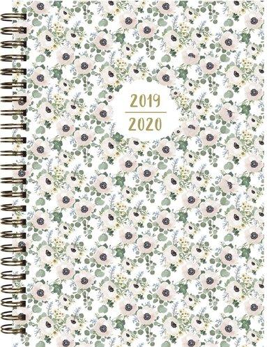 Kalender 2019-2020 Senator A5 småblommig 1