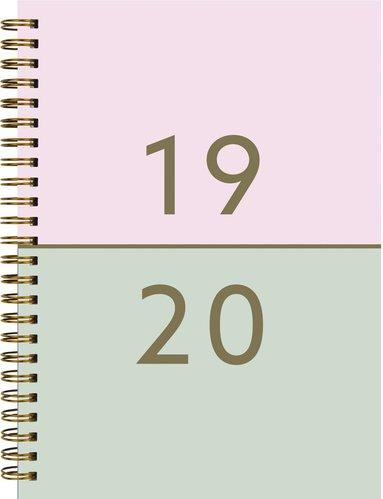 Kalender 2019-2020 Senator A5 Duo rosa 1
