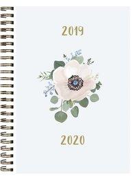Kalender 2019-2020 Study A5 blomma
