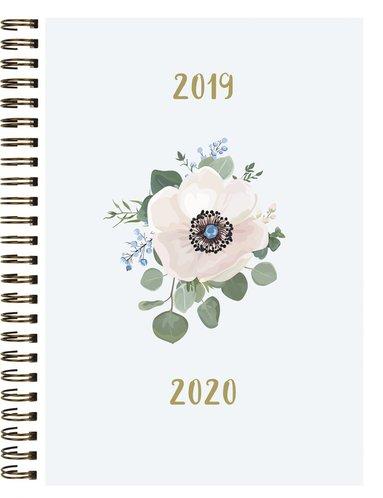 Kalender 2019-2020 Study A5 blomma 1