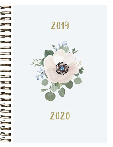 Kalender 2019-2020 Senator A6 blomma 1