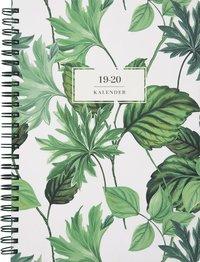 Kalender 2019-2020 Study A5 gröna blad