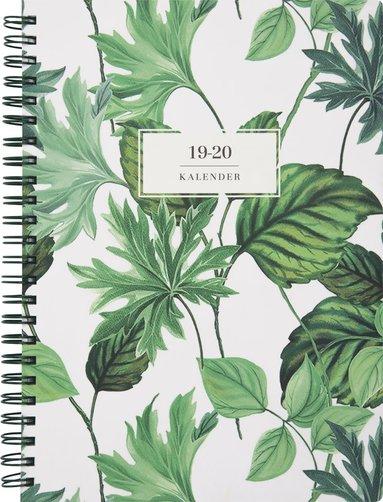 Kalender 2019-2020 Senator A6 gröna blad 1