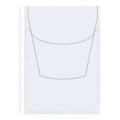 Plastficka Bälg A4 Multihålad