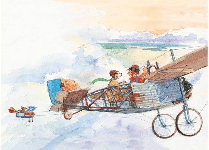 Kort Mulle Meck bygger flygplan 1