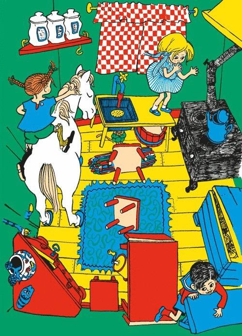 Kort Känner du Pippi Långstrump? 1