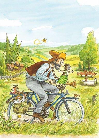 Kort Pettson cyklar