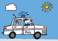 Kort Mollys polisbil