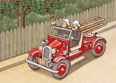 Kort Sagan om det röda äpplet