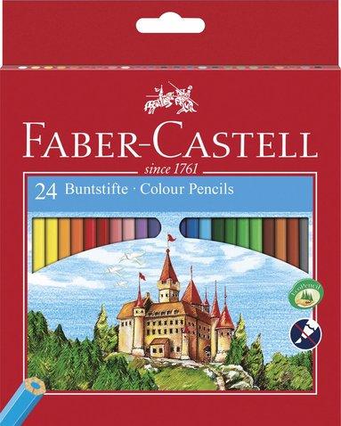 Färgpenna Ecopencil sexkantig 24 färger