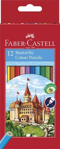 Färgpenna Ecopencil sexkantig 12 färger