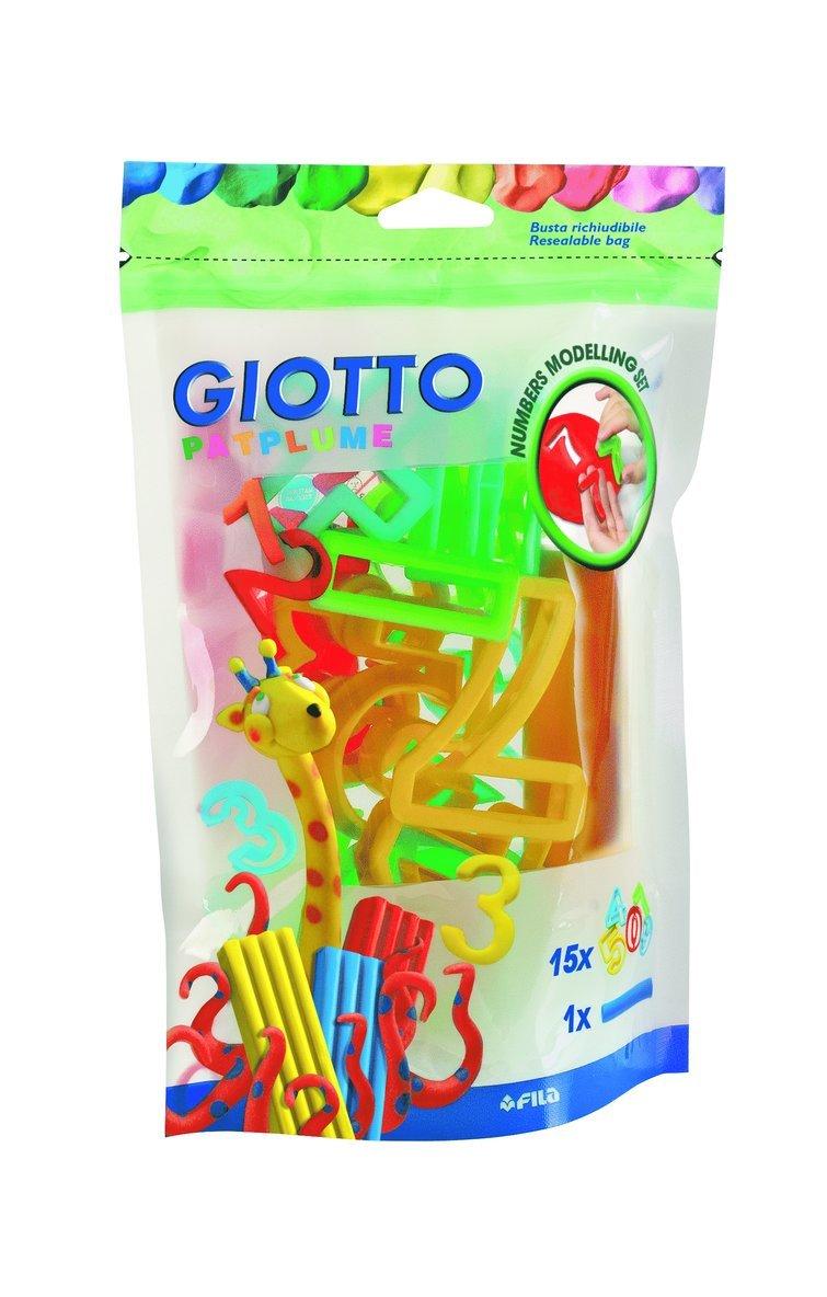 Siffror för leklera Giotto Patplume 16 stycken 1