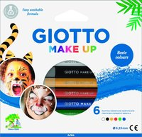 Ansiktsfärgpennor Giotto Make Up Basic Colours 6 färger