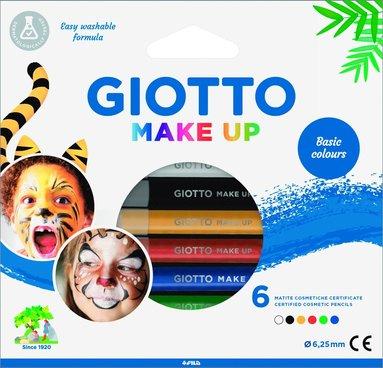 Ansiktsfärgpennor Giotto Make Up Basic Colours 6 färger