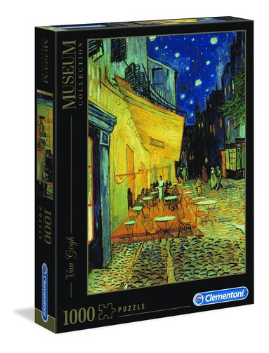 Pussel 1000 bitar Museum Collection : Van Gogh - Café Terrace at Night 1