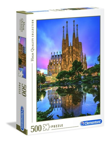 Pussel 500 bitar High Quality Collection : Barcelona 1