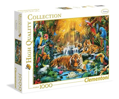 Pussel 1000 bitar High Quality Collection : Mystic Tigers
