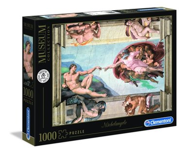 Pussel 1000 bitar Museum Collection : Michelangelo - The Creation of Man 1