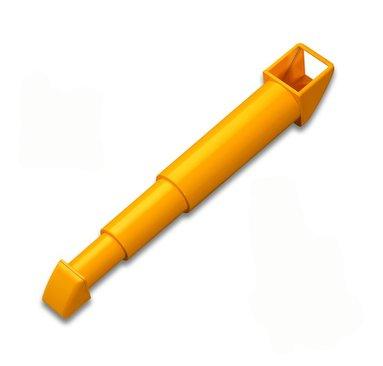 Periskop förstoringsbart gul