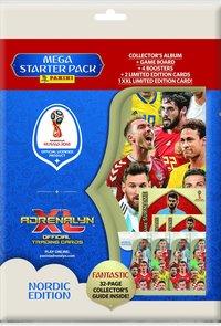 Samlarkort Fotbolls-VM 2018 startpaket