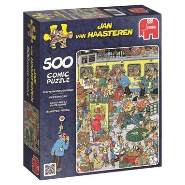 Pussel 500 bitar Jan van Haasteren - Platform Pandemon